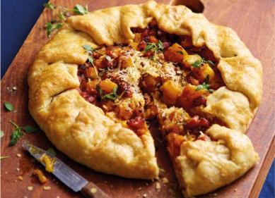 Recipe: Squash, Bacon & Parmigiano Reggiano galette