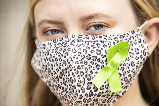 Wear a green ribbon to help end stigma & discriminationabout mental health