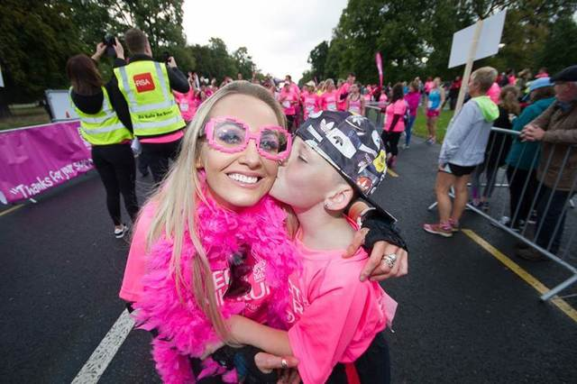 In the Pink …. Breast Cancer Survivor Helping to Turn the World Pink