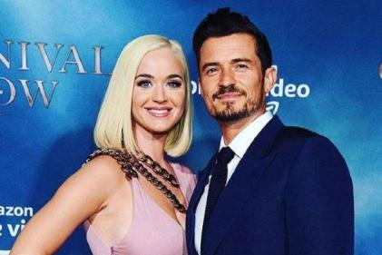 Katy Perry's blue-eyed baby girl is the spitting image of her dad Orlando