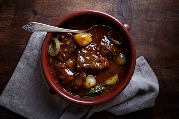 Recipe: Beef and winter vegetable stew with red wine sauce