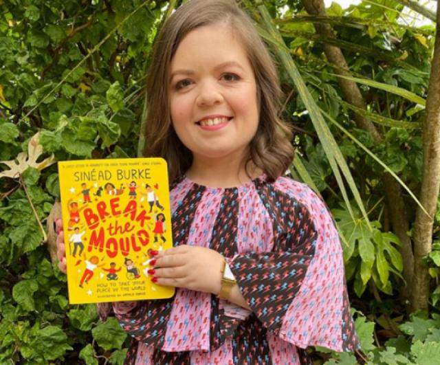 Sinéad Burke challenges our children to Break The Mould in inspiring new book