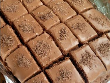 Recipe: Easy chocolate tray bake - the perfect recipe for midterm break.