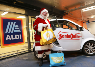 Aldi Ireland to give 100 families the chance to chat with Santa online