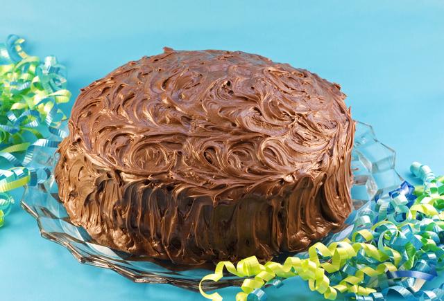 Favourite chocolate fudge cake