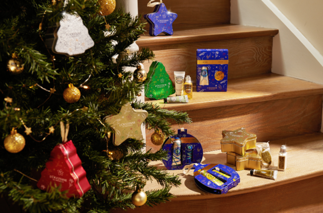 L'OCCITANE have Christmas all wrapped up