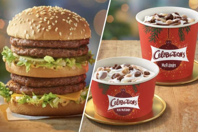 McDonald's launches Christmas menu but their holiday McFlurry is the best