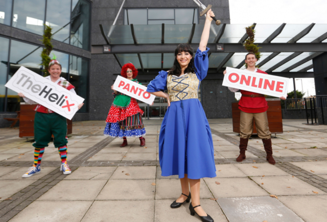 The Helix announce online Christmas panto 'The Sword in the Stone'