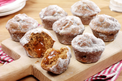 These Sticky Toffee Duffins are utterly sumptuous