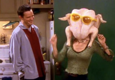 'Friends' star Courteney Cox recreates her famous turkey dance for Thanksgiving