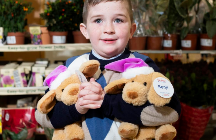 Tesco launches Benji the bear in aid of Children's Health Foundation Temple Street