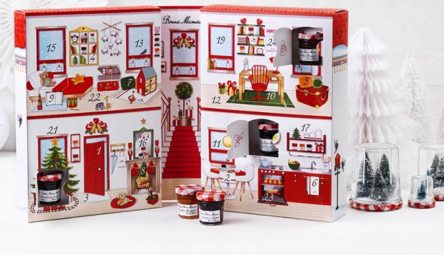 Bonne Mamans jam advent calendar is the cutest thing ever