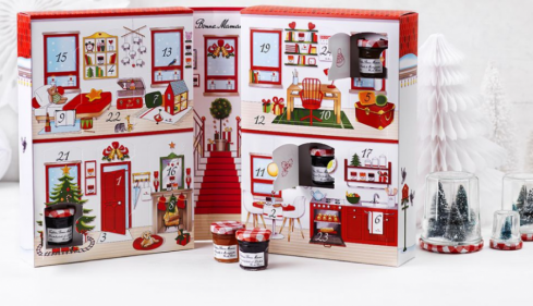 Bonne Mamans jam advent calendar is the cutest thing ever