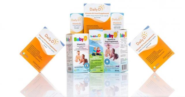 New Vitamin D3 guidelines and supplements launched by Irish brand.