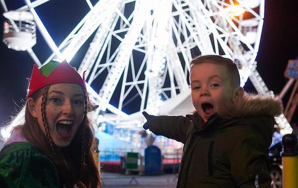 Christmas is saved with Disney drive-in cinema, panoramic ferris wheel & Santa selfie screen