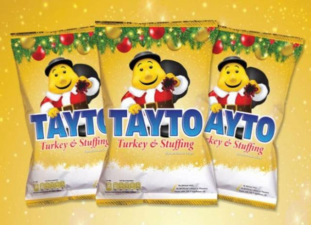 Christmas is here! Tayto launches Turkey and Stuffing crisps