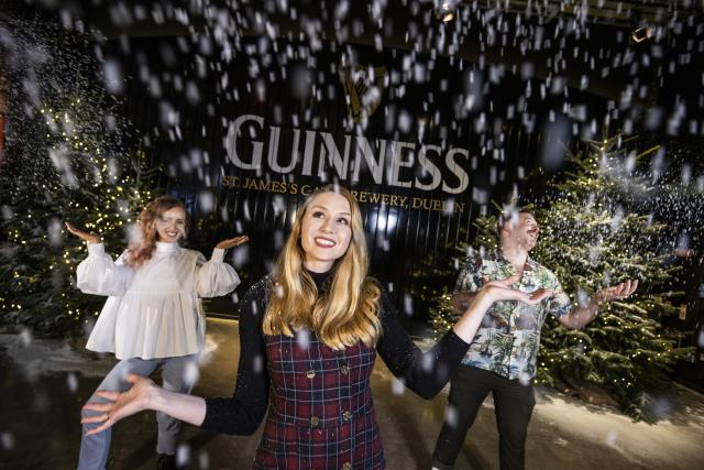"""Magical """"Winter Village at the Guinness Storehouse is now open"""