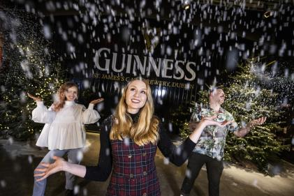 "Magical ""Winter Village at the Guinness Storehouse is now open"