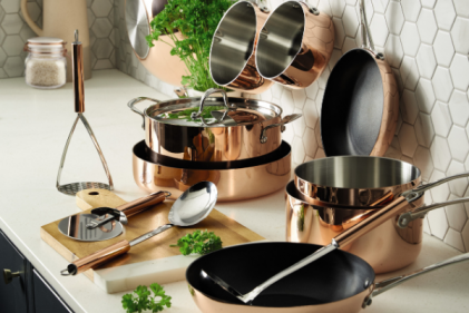 Aldi release stunning copper kitchen range and we want it all