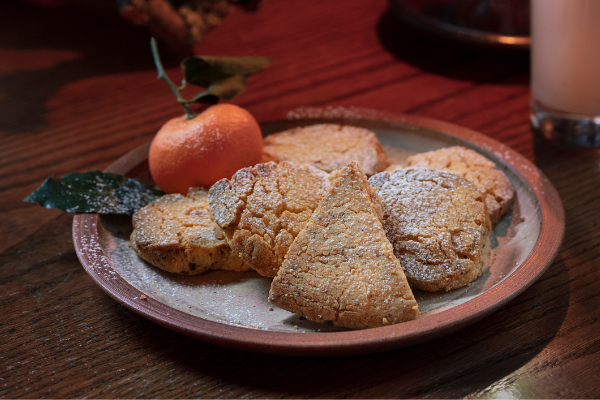 Hazelnut Shortbread Biscuit Recipe: The perfect treat for Santa