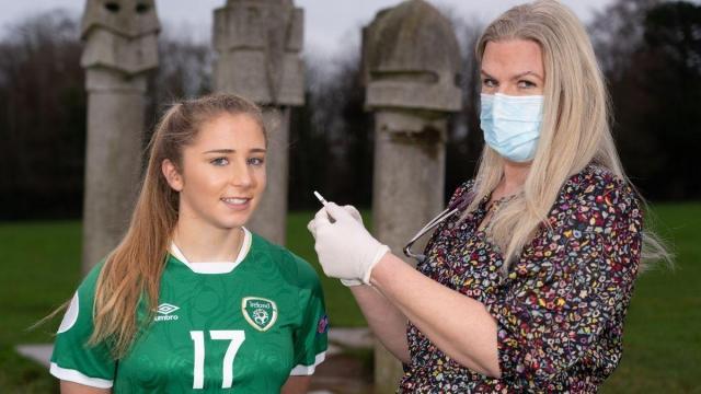 Teen Irish soccer star Ellen Molloy advocates for childrens flu vaccine