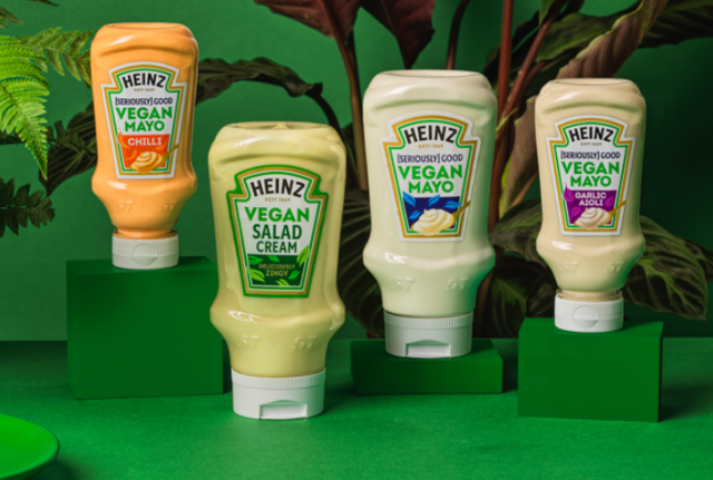 Veganuary just got even easier with new plant-based Salad Cream & Mayo