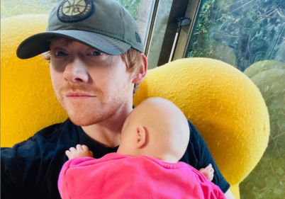 Harry Potter star Rupert Grint opens up about fatherhood and becoming a dad