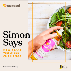 Win a healthy hamper with  #SIMONSAYSCHALLENGE