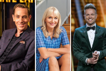 RTÉ release list of top 10 earning Irish presenters and their whopping salaries