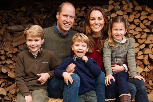 George, Charlotte and Louis did the sweetest thing for mum Kate on Mother's Day
