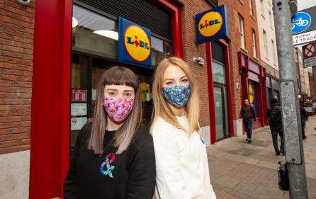Lidl launches stylish designer face coverings in aid of charity partner Jigsaw