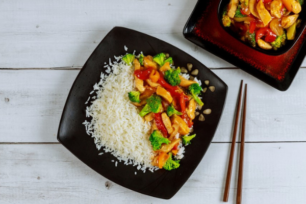 This flavourful sweet and sour chicken recipe is a firm family favourite