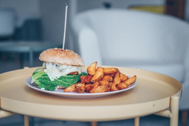 The midterm treat veggie burger recipe theyll love!