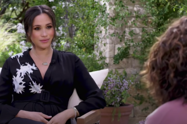 """Watch the teaser for Oprah's """"shocking"""" interview with Meghan & Harry"""