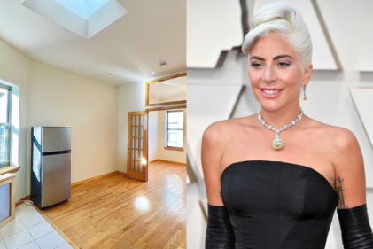 Pics: Lady Gaga's former New York apartment is on the market for $2K per month