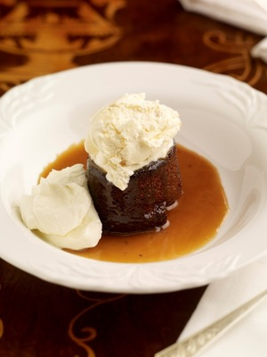 Dunbrody sticky toffee pudding