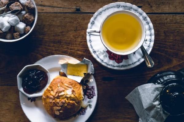 Afternoon tea inspo! Raspberry & white chocolate scones