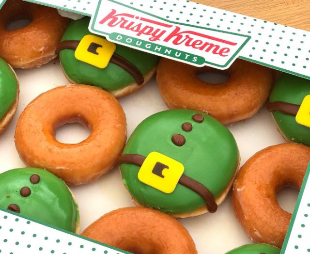 Krispy Kreme's limited-edition St Patrick's Day doughnuts are back!