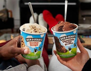 Just Eat is now delivering Ben & Jerry's ice cream straight to your door!