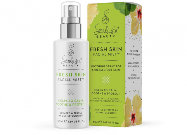 Seoulista Beauty launches Fresh Skin Facial Mistto calm & soothe stressed-out skin