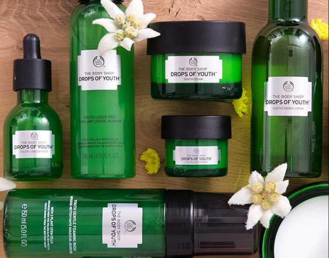 Hydrate & protect your skin with the 'Drops of Youth' products from The Body Shop