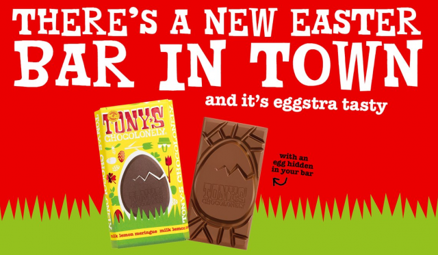 Tony's Chocolonely limited-edition Easter chocolate launches across Ireland