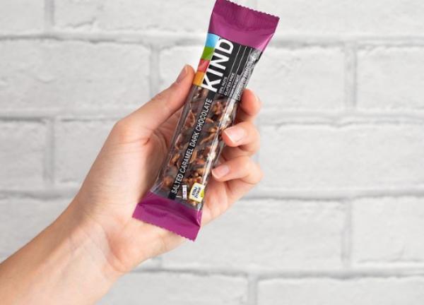 Kind introduces delicious new salted caramel dark chocolate bar
