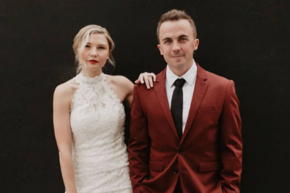 Malcolm in the Middle star Frankie Muniz and wife Paige welcome their first child