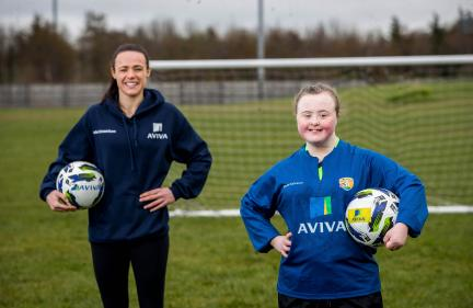 Aviva soccer sisters virtual skills hub is back for Easter break!