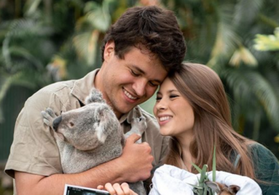 Bindi Irwin shares first photo with new daughter and explains her sweet name