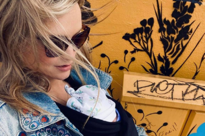 Love Island's Laura Whitmore shares an empowering message for new mothers