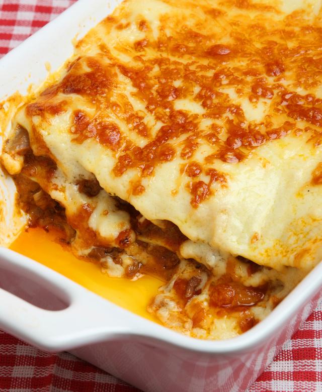 No fuss lasagne