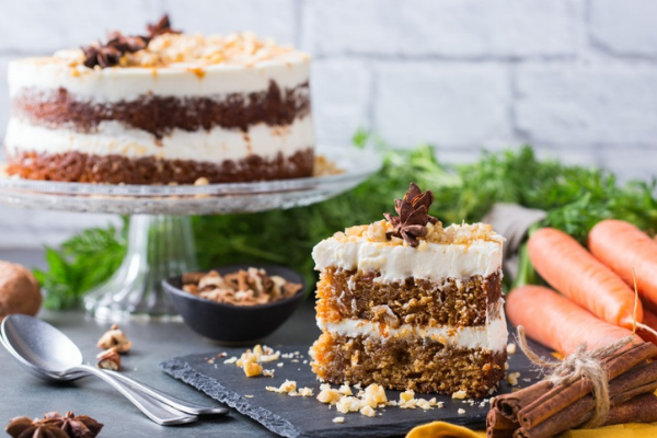 Recipe: The simple gluten-free carrot cake is absolutely scrumptious