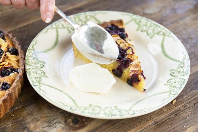 Feeling summery? AVOCA's blueberry-lemon tart is the perfect summer bake